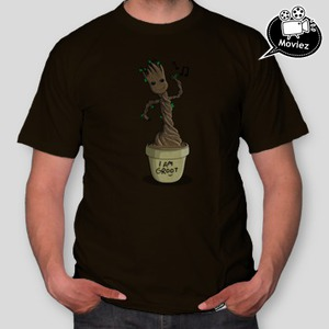 dca29a9bb2f1 Pánské tričko I am Groot  I am Groot