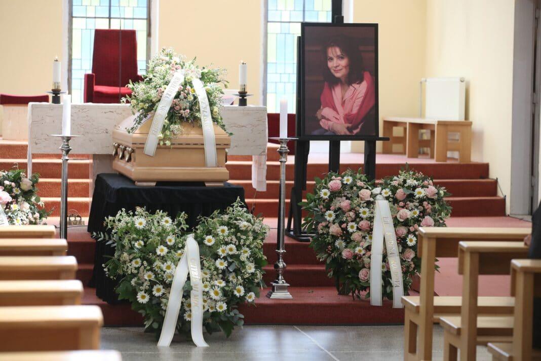 Pohřeb Libušky Šafránkové