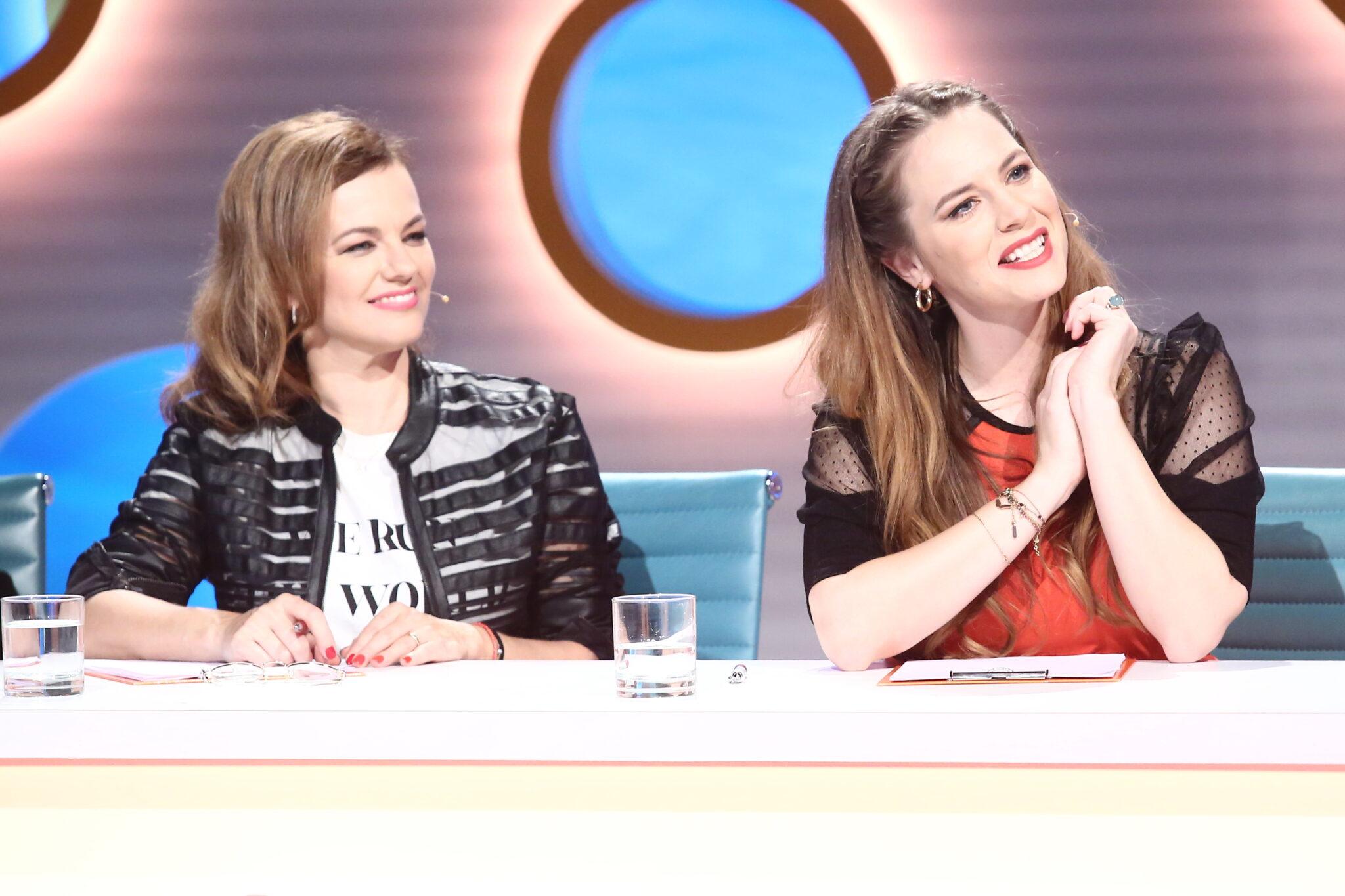 Marta Jandová a Kristýna Leichtová
